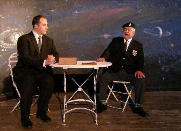 "Jesse Cooper and Albert Clack in ""Farfetched Fables"""