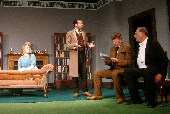 """The Philanderer"" Bethany Blake, Karl Niklas, Anthony Wise, Seamus Newham"