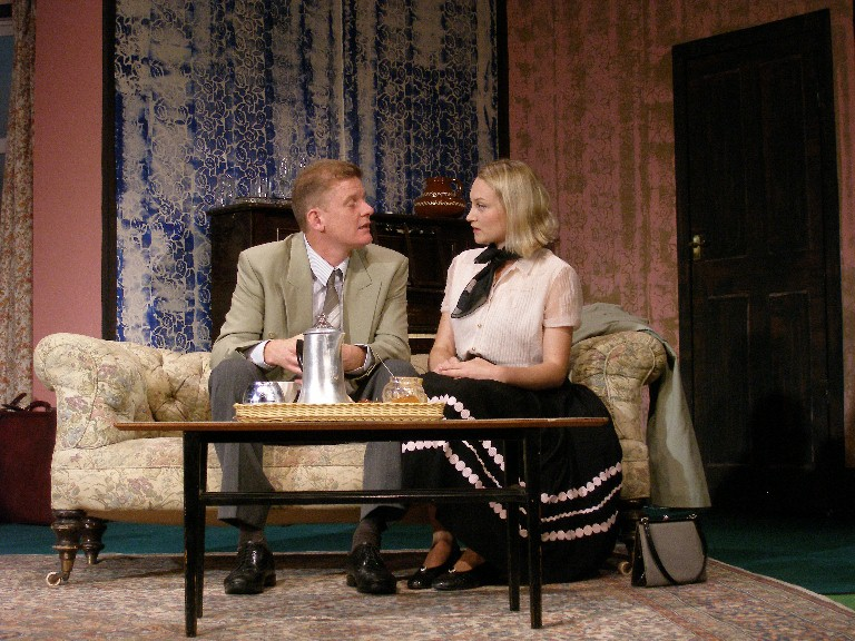 "Cameron Robertson and Beatrice Allen in ""Same Time Next Year"""